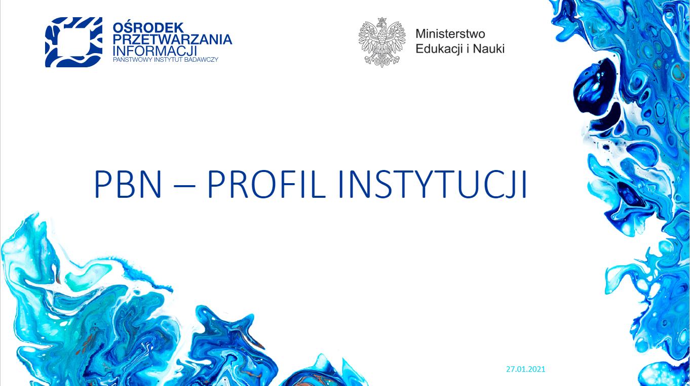PBN Profil Instytucji